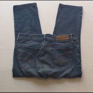 Seven7 Blue Denim Jeans Size 12 Woman's Skinny